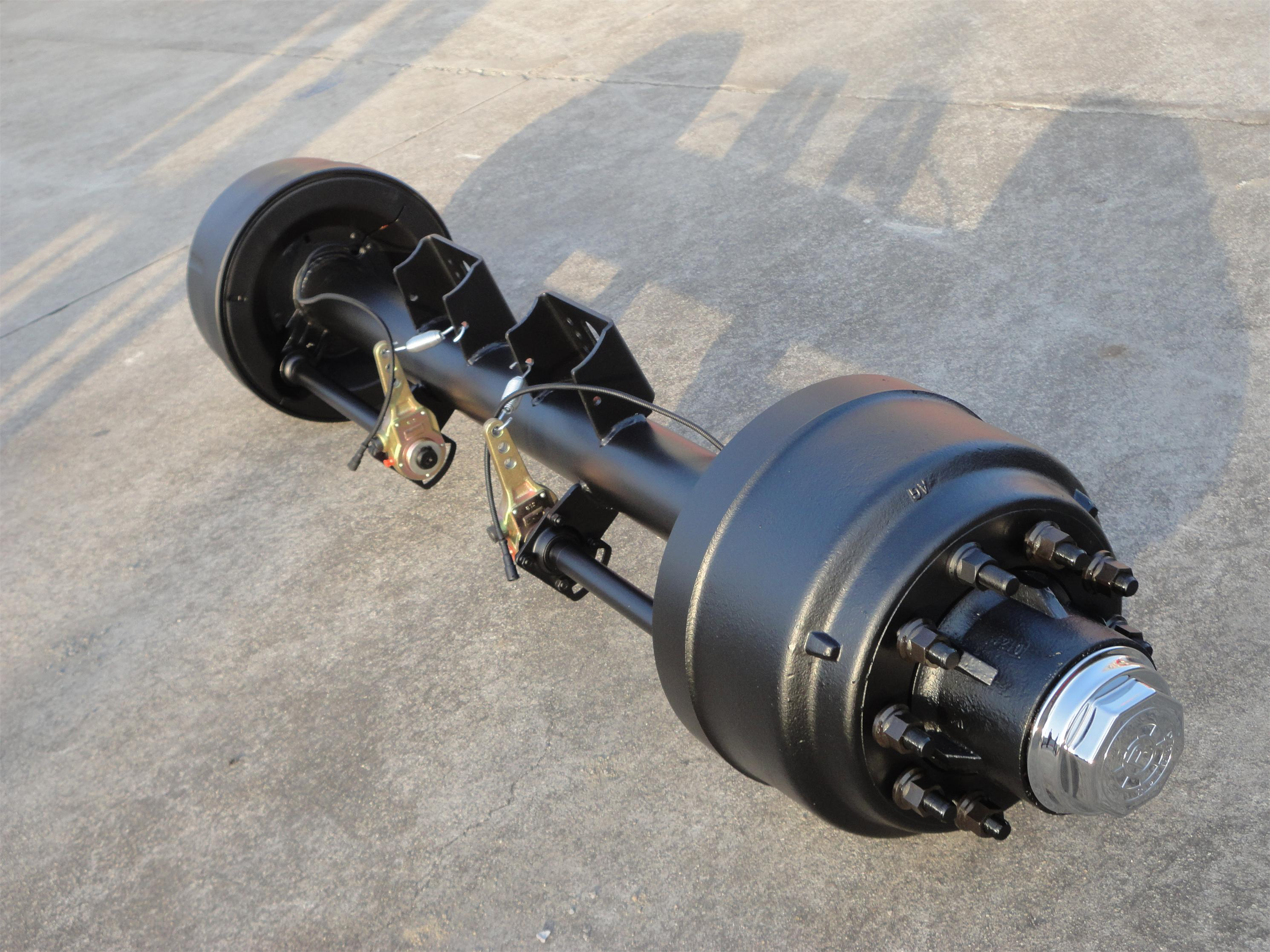 american type outboard round axle with ABS
